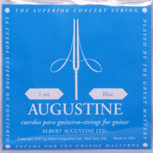 AUGUSTINE 클래식 기타줄 (CLASSIC/BLUE, High Tension)