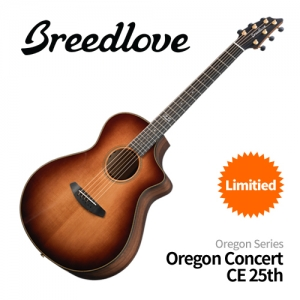 [Breedlove] 브리드러브 Oregon Concert CE 25th Anniversary