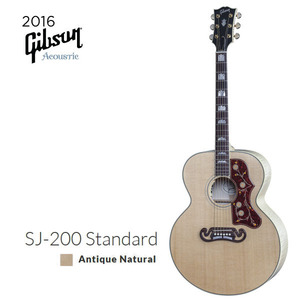 [Gibson] 깁슨 SJ-200 Standard (Antique Natural) 2016년