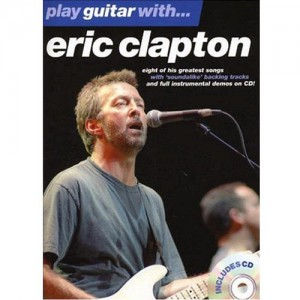 Eric Clapton - Play Guitar With Eric Clapton(Book & CD & DVD)