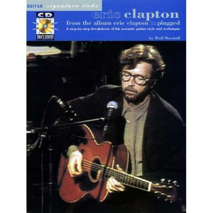 Eric Clapton - From The Album Unplugged (Book & CD)