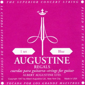 AUGUSTINE 클래식 기타줄(REGALS/BLUE, High Tension)